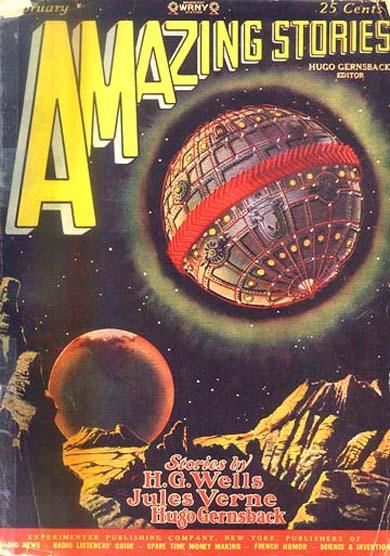 Amazing Stories February 1928