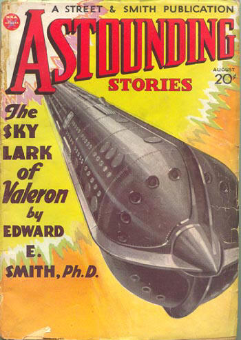 Astounding Stories August 1934