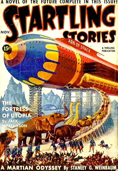 Startling Stories November 1939