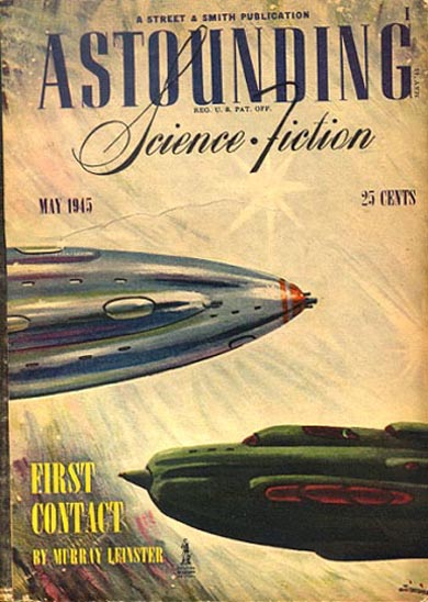 Astounding Science Fiction May 1945
