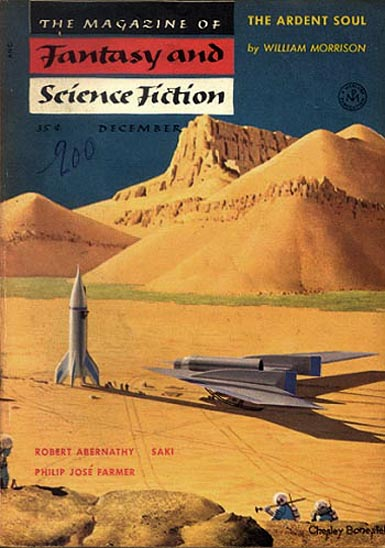 The Magazine of Fantasy & Science Ficton December 1954