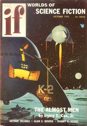 The Top Ten Post 1950 Coolest SF Pulp Magazine Spaceships