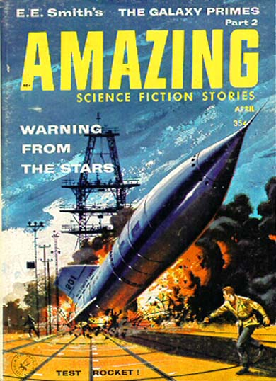 Amazing Science Fiction April 1959