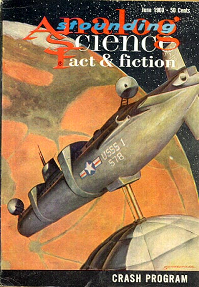 Astounding Science Fact and Fiction June 1960