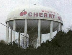 cherry hill water tower